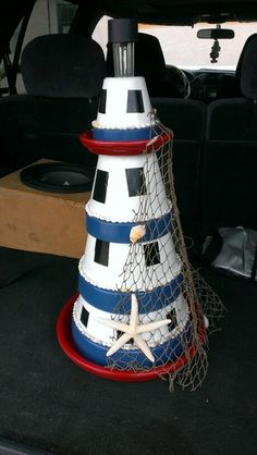 Clay Pot Lighthouse Tutorial                                                                                                                                                                                 More
