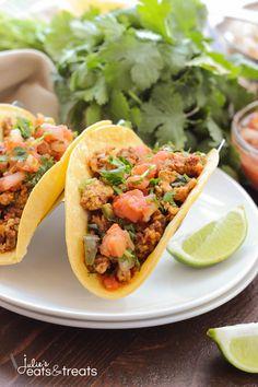 Chorizo Breakfast Tacos Recipe - Julie's Eats & Treats
