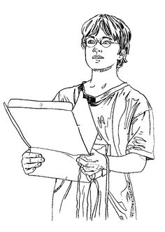 Harry Potter coloring pages for kids printable free