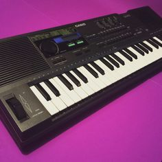 CASIO HT700 keyboard synthesizer synth electronic piano music musical instrument musician record song tune band program 70s 80s eighties 90s