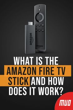 What Is the Amazon Fire TV Stick and How Does It Work?  #Amazon #FireTV #Streaming Amazon Fire Tablet, Amazon Fire Tv, Tv Hacks, Netflix Hacks, Android Secret Codes, Android Codes, How To Jailbreak Firestick, Tv Without Cable, Cable Tv Alternatives