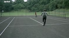 Tennis with no ball, from Blow Up
