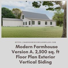 $595. 3 Bed – 2.5 Bath ~ 2,500 sq. ft. with Loft Options. We sell semi-custom Barndominium floor plans and provide helpful tips to design and build your home whether it is DIY or you are paying a company. #architecture #barndominiums #home #modernbarn #barnhomefloorplans #beautifulbarn #homefloorplan #barnhomedesign #housedesign #barndominiumfloorplans #floorplan #dreambarn #barnhouse #barndominiumliving #exteriordesign #barndominiumdesign #exterior #verticalsiding
