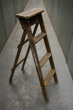 sweet vintage ladder find.