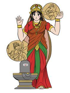 Parvati Devi by VachalenXEON on DeviantArt