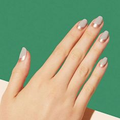 "5 Salons That Are Bringing Back Nail Art #refinery29  http://www.refinery29.com/nail-art-designs#slide-10  PaintboxAptly referred to as the Modern Manicure Studio, Paintbox takes classic nail art designs and updates them. Think: unconventional french manicures and <a href=""https://www.instagram.com/p/rKKR4pmsLz/?taken-by=paintboxnails"" rel=""nofollo..."