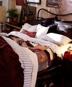 """Ralph Lauren Home Frm bd: """"Chambre y Coucher"""""""
