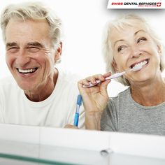 Did you know that keeping dental implants clean is as simple and easy as with natural teeth? --------------------------------------------