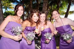 Real Life Bride Courtney's Theme:  Purple  #bridal #wedding #rozlakelin #designer #couture #beautiful #love
