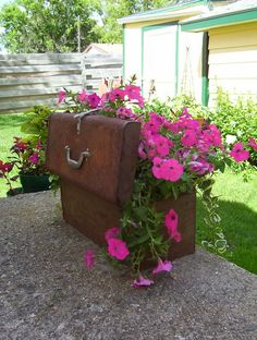 tool box planters - Google Search