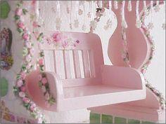 arbor swing2 by Enchanted Rose Studio, via Flickr #Pink #Swing