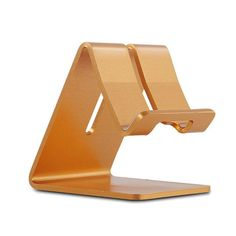 Universal Aluminum Metal Mobile Phone Tablet Desk Holder Stand for iPhone 7 / 7 Plus 6s 6 5s 5 Cellphone for Kindle Ebook