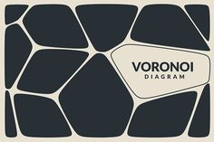 Voronoi Diagram Vector Backgrounds by Pixelll on @creativemarket