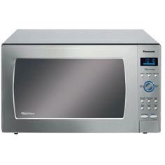 Panasonic NN-SE982S Stainless 1250W 2.2 Cu. Ft. Countertop Microwave Oven with Inverter Technology