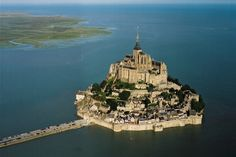 The most beautiful castle in Europe Mont st Michel