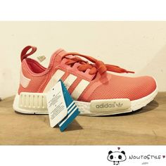 4a11c4d08c081 ... Adidas NMD S76006 Salmon Peach R1 Runner Coral Raw Pink Vappn Boost ...