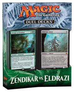 Magic: The Gathering Duel Decks Zendikar Vs Eldrazi