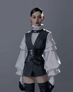 did anyone point out artwork Jedi-Outfit? Harajuku Mode, Estilo Harajuku, Harajuku Fashion, Harajuku Style, Jedi Outfit, Vetements Clothing, Mode Kpop, Cool Outfits, Fashion Outfits