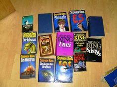 Grusel pur für kalte Abende am warmen Kamin - 14 Romane von Stephen King - drei Tage lang auf ebay - entweder ersteigern oder sofort kaufen für 10,00 €