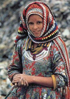 knitted blanket.