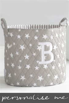 3159bef0f0fc Embroidered Initial Quilted Storage Bag By My 1st Years (173140)