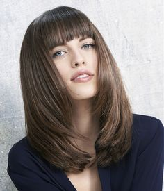 50 Flattering hairstyles for Long Faces...