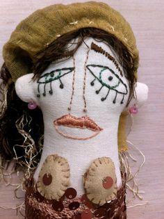Antonieta Primera.   Muñeca de trapo.