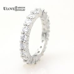 Find More Rings Information about 50% off 925 Sterling Silver Ring Engagement Rings for Women Jewelry Crystal Simulated Diamond Ring Wholesale Gift Ulove Y041,High Quality accessories dropship,China accessories case Suppliers, Cheap accessories types from ULOVE Fashion Jewelry on Aliexpress.com