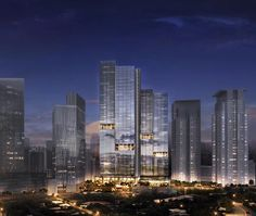 Project Emerald - Makati - Architecture - SCDA Futuristic Architecture, Amazing Architecture, Art And Architecture, Bronx Nyc, Urban Design Plan, Archi Design, Great Buildings And Structures, Architecture Visualization, High Rise Building