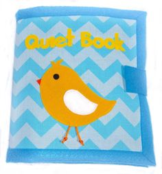 Quiet Book 12 pages Cloth activity and by QuietTimeDesigns on Etsy