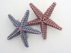 Huib Petersen и его бисерные шедевры – Ярмарка Мастеров Class Pictures, Star Pictures, Beaded Starfish, Mermaid Jewelry, Beaded Animals, Macrame Jewelry, Ocean Life, Bead Weaving, Seed Beads