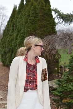 Cream and Red Plaid   Style in a Small Town
