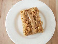 No Bake Peanut Butter Rice Krispies Cookies