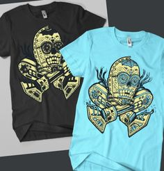 Day Of The Dead C-3PO [T-Shirt]