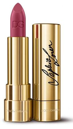 Dolce & Gabbana Sophia Loren No.1 Lipstick   Fall 2015
