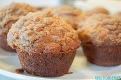 Looking for the perfect grab and go breakfast ideas? These Banana Bread Muffins are the perfect breakfast or snack idea that are quick and easy to make.