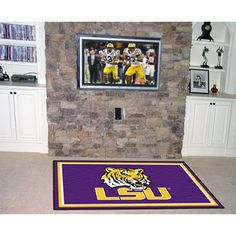 Each Fan Mats product is produced in a 250,000 sq. ft. state-of-the art manufacturing facility. Only the highest quality, high luster yarn with 16 oz. face weight is used. These mats are chromo jet pr