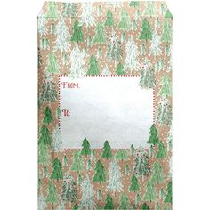 Small Christmas Printed Padded Mailing Envelopes, Opulent Trees (12 Pc – Present Paper Mailing Envelopes, Biodegradable Products, Presents, Trees, Gift Wrapping, Quilts, Printed, Paper, Christmas