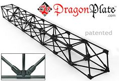 "Create 0.5"" Carbon Fiber Pultruded Tube Structures  Why is Carbon Fiber ideal for building structures?  The benefit of carbon fiber over conventional structural materials is the high strength"
