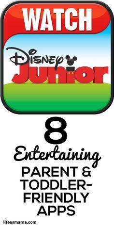 8 Entertaining Parent & Toddler Friendly Apps