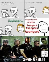 Avengers Sevenfold #epic #gif #funny pic #9gag