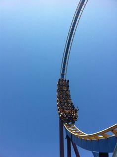 #SixFlags Magic Mountain #rollercoaster