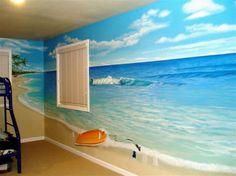 ocean-themed-wall-murals-for-kids.jpg (1024×767)