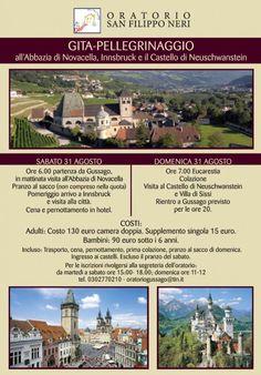 Gita-Pellegrinaggio all'Abbazia di Novacella e Innsbruk con l'Oratorio del Centro - http://www.gussagonews.it/gita-pellegrinaggio-abbazia-novacella-innsbruk-oratorio-gussago/