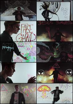 "The provocative music video for Justin Bieber and EDM supergroup Jack Ü's collaborative hit single ""Where Are Ü Now"" not only contained loads of occult subliminal symbolism which flashes by at the speed of light, but also quite a few ill omens and shocking revelations. This includes multiple depictions of pyramids containing the Eye Of Providence within the capstones, a Masonic Square & Compass, inverted crosses, a depiction of a nuclear holocaust and the encrypted message of ""Bush Did…"