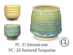 AMACO Potter's Choice layered glazes PC - 25 Textured Turquoise ...