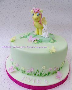 Fluttershy cake