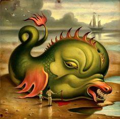 Unindo a beleza e o bizarro, o ilustrador americano Chris Buzelli nos apresenta as suas obras surrealistas. Utilizando corpos de animais e humanos, unidos aos quatro elementos da natureza, percebem…