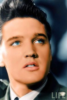 Young man - look at those blue eyes!