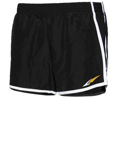 LADIES PERFECT RUNNING SHORT Lined interior, moisture wicking, low rise, elastic band.